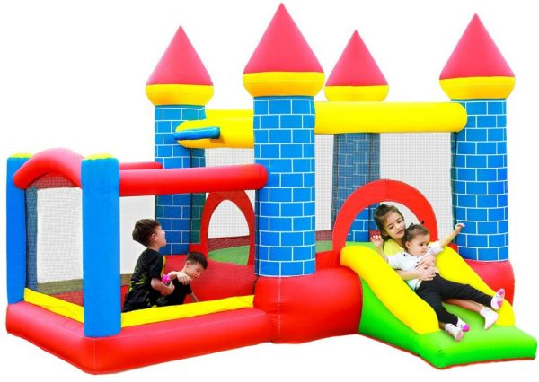 Doctor Dolphin Ball Pit Bounce House Combo