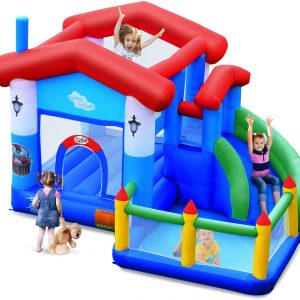 BouncTech Bounce House Slide Ball Pit Combo