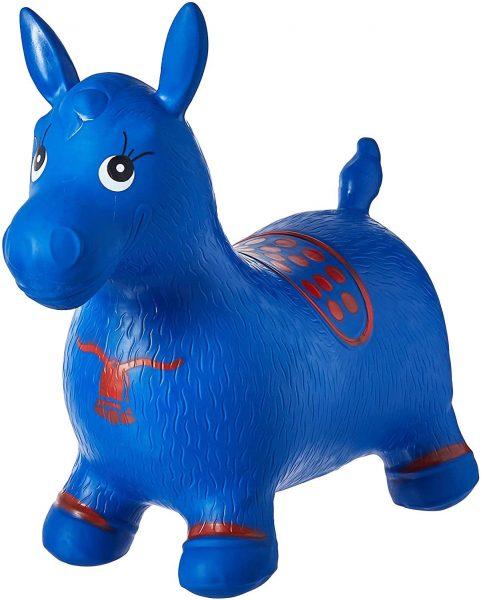 Little Ones Blue Hopper Horse