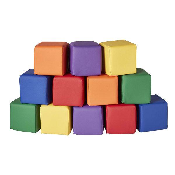Little Chickadees Soft Play Medium Blocks