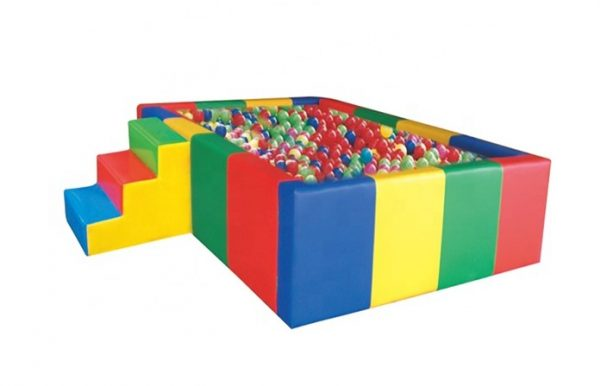 Toybox Large Colorful Soft Play Ball Pit