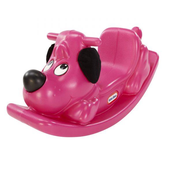 Little Chickadees Pink Puppy Rocker