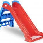 Little Tikes red slide