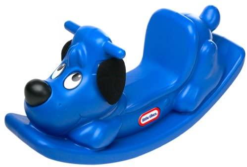 Little Chickadee Blue Rocking Puppy