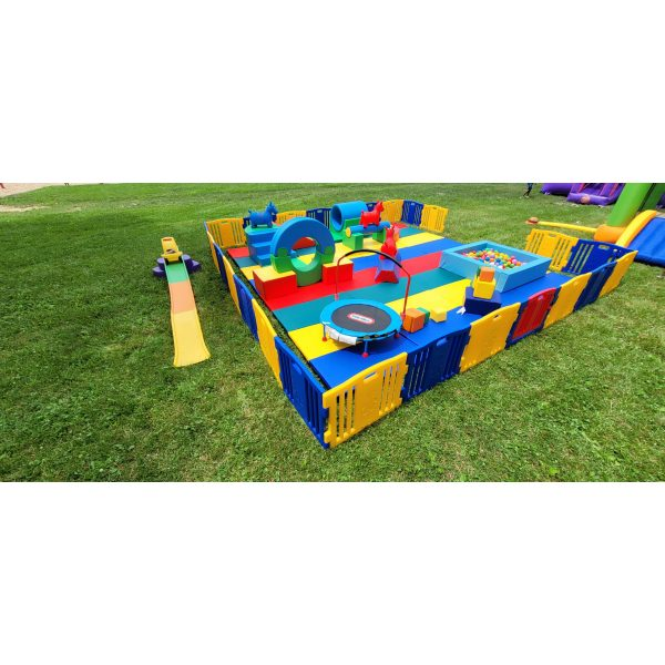 Mighty Munchkins Soft Play Obstacle Course 3