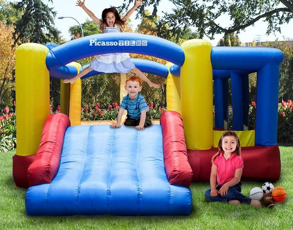 Red & Blue Toddler  Bounce House