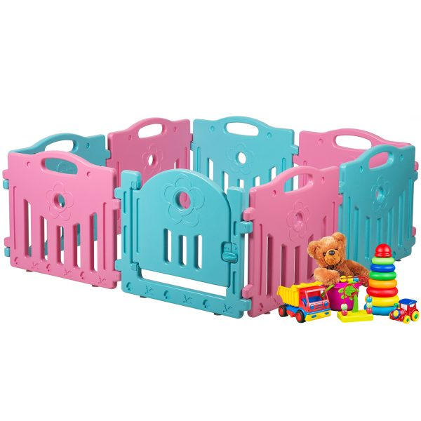 Tropical Princess Blue & Pink Gate