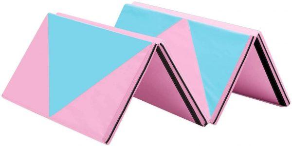 Tropical Princess Pink and Blue Foam Mats
