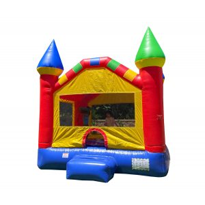 Primary Colored Bounce House