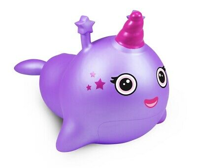 Tropical Princess Purple and Pink Whale Bouncy Hopper