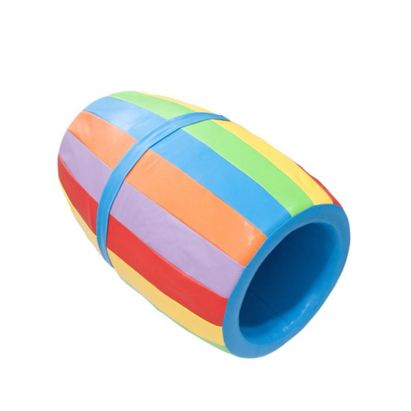 Toybox Colorful Soft Play Roller Barrell