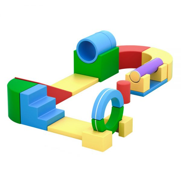 Mighty Munchkins Soft Play Obstacle Course Blocks