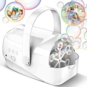 White Bubble Machine